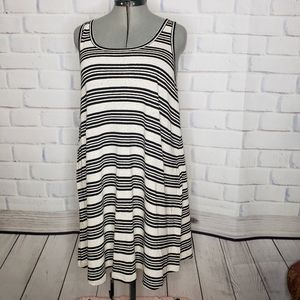 Lou & Grey Relaxed Fit Striped Dress